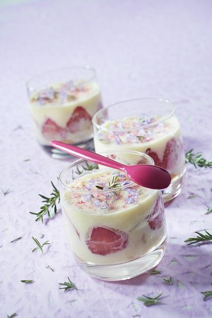 tiramisu fraise fromage chevre